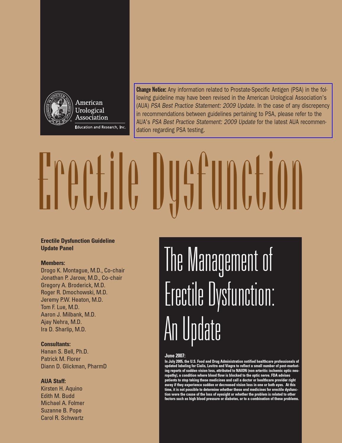 Disfunctia erectila: cauze, simptome si recomandari