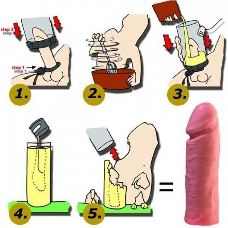 ce să faci un penis de casă