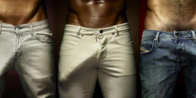 pantaloni pentru bărbați penis