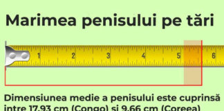 dimensiunea medie a penisului cm