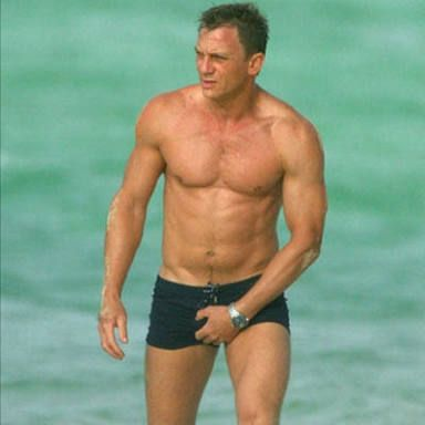 Daniel Craig: cel mai sexy James Bond
