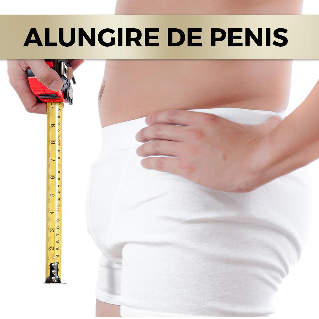 alungirea și îngroșarea atașamentelor penisului