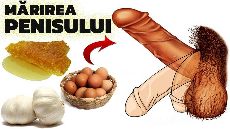 masaj penis cu mărirea acestuia