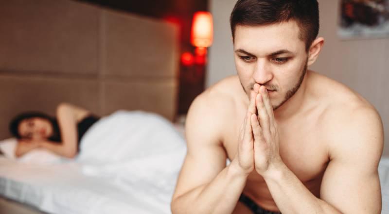 erecție proastă în timpul actului sexual)