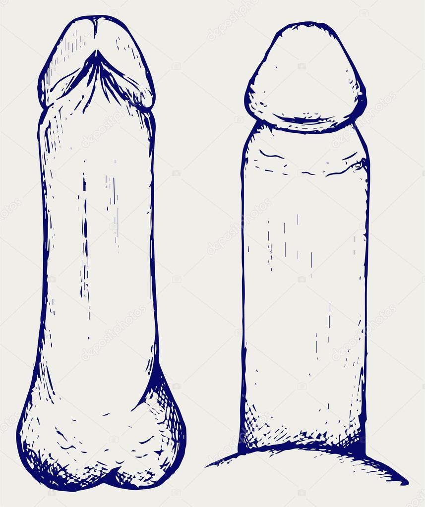 linie întunecată pe penis)