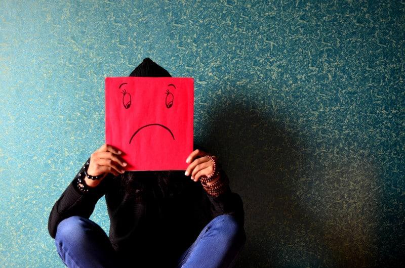 din cauza depresiei, fără erecție
