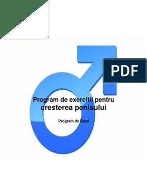 antrenamente pentru mărirea penisului