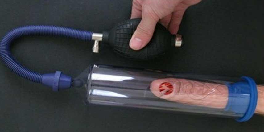 masaj penis cu pompă de vid